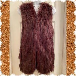 Debby Collection Faux Fur Vest
